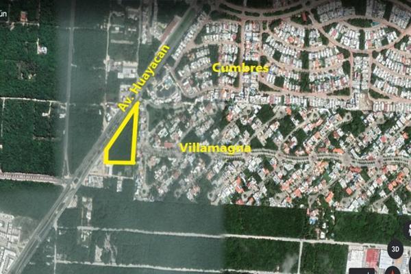 Foto de terreno habitacional en venta en avenida huayacan supermanzana 313 , supermanzana 312, benito juárez, quintana roo, 20886596 No. 12