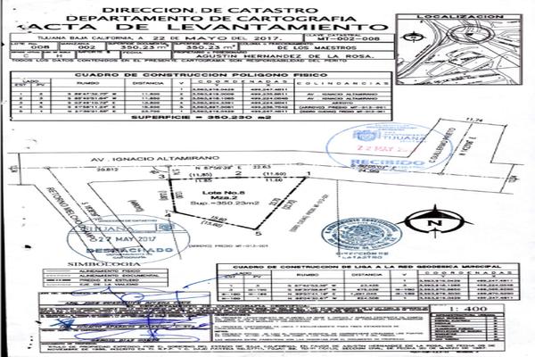 Foto de terreno habitacional en venta en avenida ignacio altamirano 7409 , de los maestros, tijuana, baja california, 12813561 No. 23