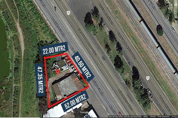 Foto de terreno comercial en venta en avenida isidro fabela , san cristóbal huichochitlán, toluca, méxico, 0 No. 02