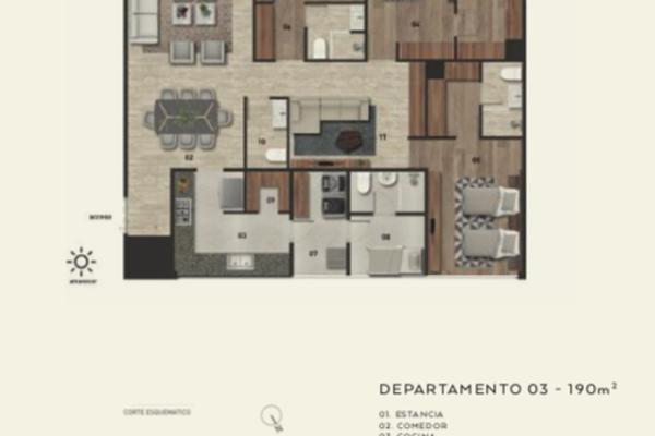 Foto de departamento en venta en avenida jesús del monte , jesús del monte, huixquilucan, méxico, 14030881 No. 13