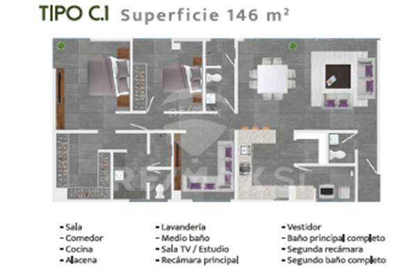 Foto de departamento en venta en avenida la vista , residencial el refugio, querétaro, querétaro, 7171559 No. 07