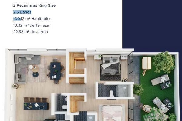 Foto de departamento en venta en avenida la vista, san calixto residencial, fraccionamiento la vista, queretaro, qro , la vista residencial, corregidora, querétaro, 12275129 No. 04