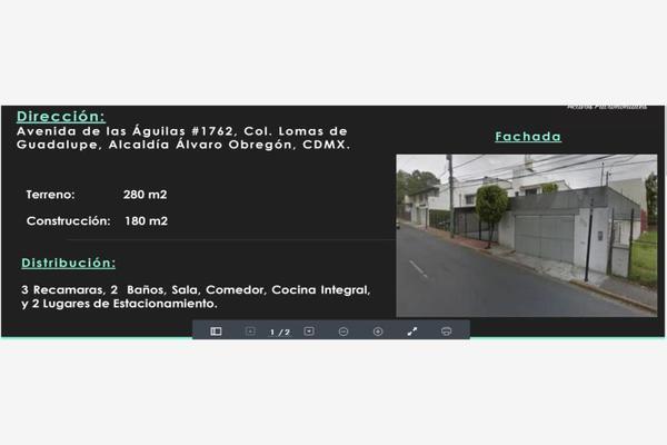 Foto de casa en venta en avenida las aguilas 1762, lomas de guadalupe, álvaro obregón, df / cdmx, 7148570 No. 01