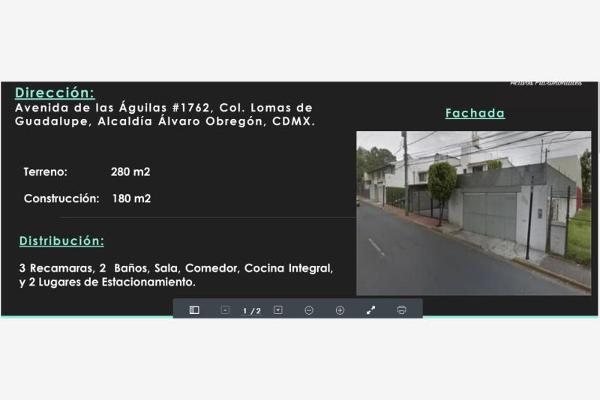 Foto de casa en venta en avenida las aguilas 1762, lomas de guadalupe, álvaro obregón, distrito federal, 0 No. 01