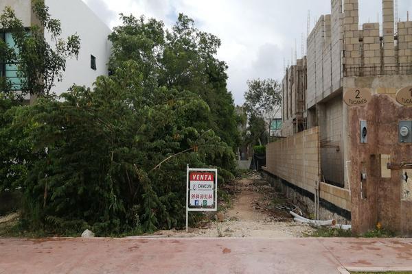Foto de terreno habitacional en venta en avenida las antillas , lagos del sol, benito juárez, quintana roo, 0 No. 03