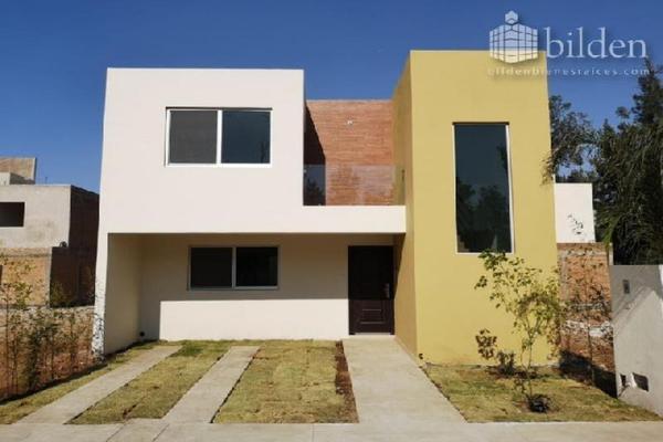 Foto de casa en venta en avenida las flores 100, gardenias privadas residencial, durango, durango, 10018434 No. 01
