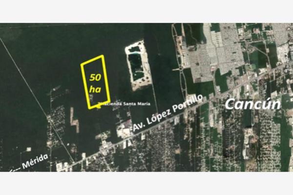 Foto de terreno habitacional en venta en avenida lopez portillo , rinconada santa maría, benito juárez, quintana roo, 0 No. 01
