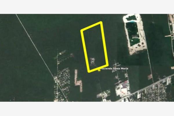 Foto de terreno habitacional en venta en avenida lopez portillo , rinconada santa maría, benito juárez, quintana roo, 0 No. 03