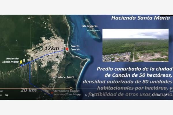 Foto de terreno habitacional en venta en avenida lopez portillo , rinconada santa maría, benito juárez, quintana roo, 0 No. 04