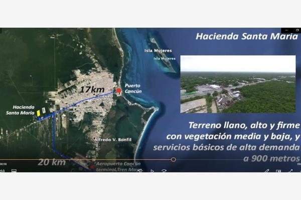 Foto de terreno habitacional en venta en avenida lopez portillo , rinconada santa maría, benito juárez, quintana roo, 0 No. 05
