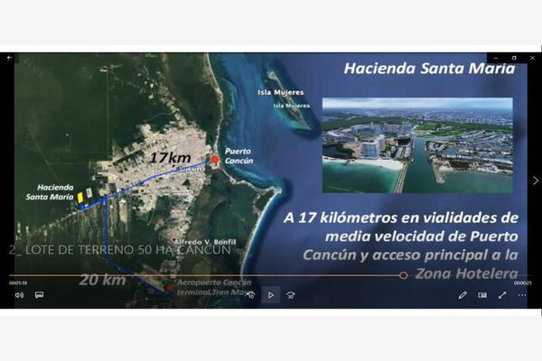 Foto de terreno habitacional en venta en avenida lopez portillo , rinconada santa maría, benito juárez, quintana roo, 0 No. 07