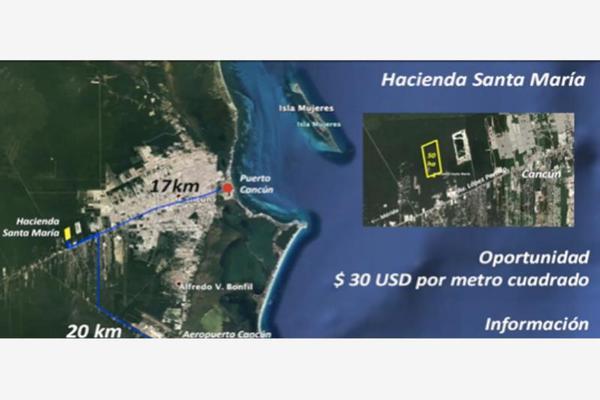 Foto de terreno habitacional en venta en avenida lopez portillo , rinconada santa maría, benito juárez, quintana roo, 0 No. 08