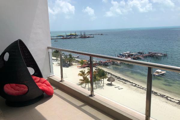 Foto de departamento en venta en avenida lopez portillo , zona hotelera, benito juárez, quintana roo, 5343724 No. 01