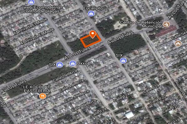 Foto de terreno comercial en venta en avenida los tules , supermanzana 226, benito juárez, quintana roo, 3603378 No. 02