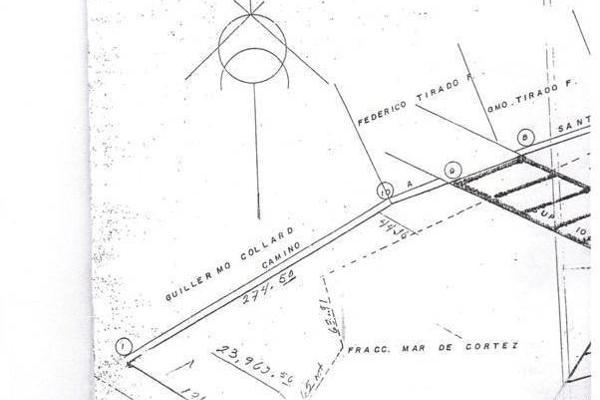 Foto de terreno comercial en venta en avenida luis donaldo colosio , mar de cortes, mazatlán, sinaloa, 5861330 No. 01