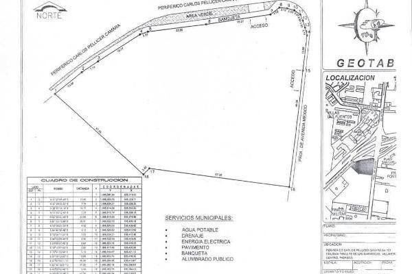Foto de terreno comercial en renta en avenida méxico , tamulte de las barrancas, centro, tabasco, 8385549 No. 01