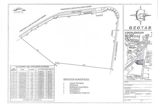 Foto de terreno comercial en renta en avenida méxico y periferico , tamulte de las barrancas, centro, tabasco, 8385549 No. 02