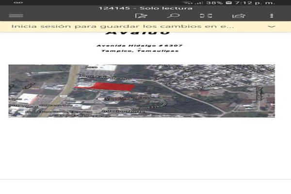 Foto de terreno habitacional en venta en avenida miguel hidalgo 000, nuevo aeropuerto, tampico, tamaulipas, 9121839 No. 02