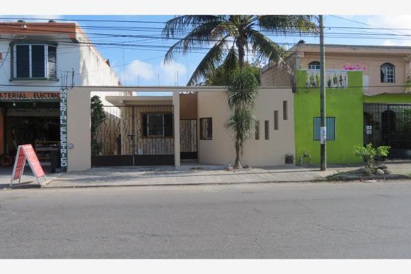 Foto de casa en venta en avenida niños heroes 23, región 232, benito juárez, quintana roo, 12274224 No. 01
