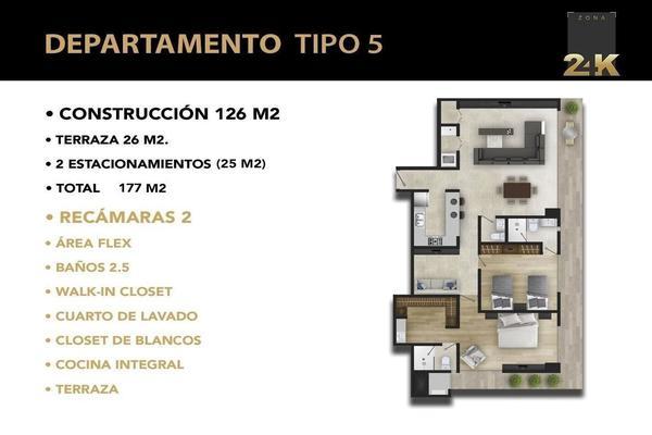 Foto de departamento en venta en avenida palmira , villas del pedregal, san luis potosí, san luis potosí, 8728473 No. 02