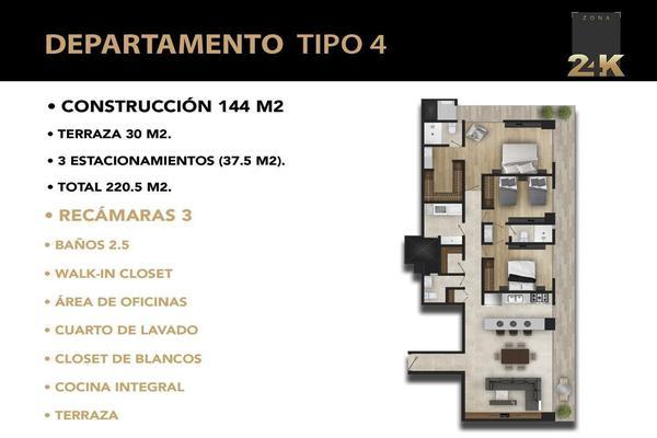 Foto de departamento en venta en avenida palmira , villas del pedregal, san luis potosí, san luis potosí, 8740592 No. 02