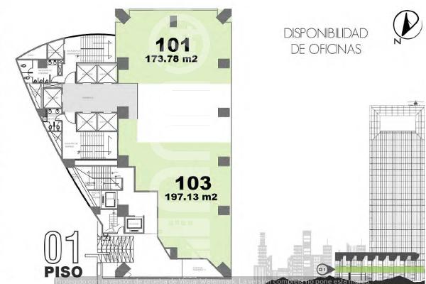 Foto de oficina en renta en avenida paseo de la reforma , lomas altas, miguel hidalgo, df / cdmx, 5330800 No. 01