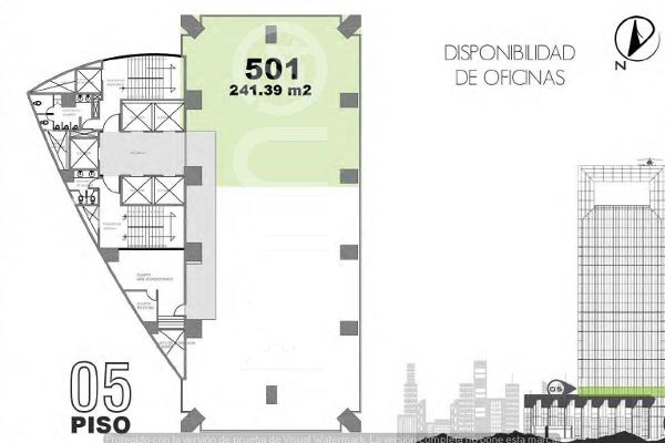 Foto de oficina en renta en avenida paseo de la reforma , lomas altas, miguel hidalgo, df / cdmx, 5328418 No. 01