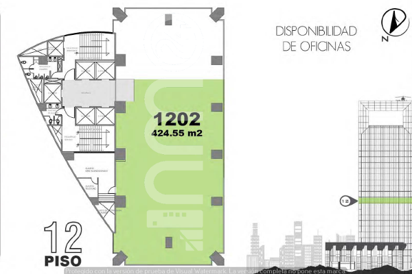 Foto de oficina en renta en avenida paseo de la reforma , lomas altas, miguel hidalgo, df / cdmx, 5331563 No. 01