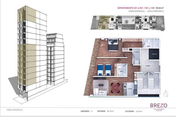 Foto de departamento en venta en avenida periférico sur , tizapan, álvaro obregón, df / cdmx, 14032393 No. 02