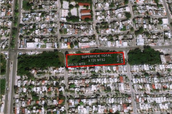 Foto de terreno habitacional en venta en avenida politecnico avenida 133 terreno 1 , región 515, benito juárez, quintana roo, 20371818 No. 01