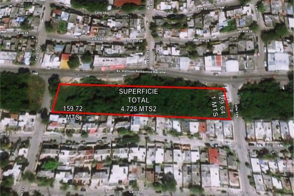 Foto de terreno habitacional en venta en avenida politecnico avenida 133 terreno 1 , región 515, benito juárez, quintana roo, 20371818 No. 03
