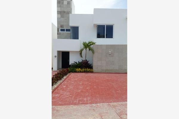 Foto de casa en venta en avenida porto sofía, izamal residencial, sm 320, manzana 20, lt 01, polígono sur lote 01, villa marino, benito juárez, quintana roo, 8898677 No. 01