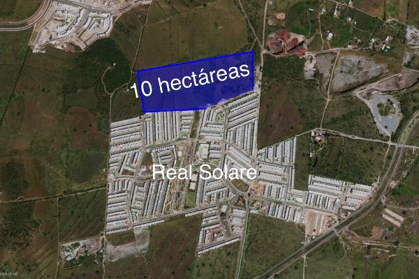 Foto de terreno industrial en venta en avenida primavera , residencial el parque, el marqués, querétaro, 8451907 No. 01