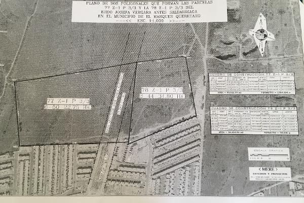 Foto de terreno industrial en venta en avenida primavera , residencial el parque, el marqués, querétaro, 8451907 No. 03