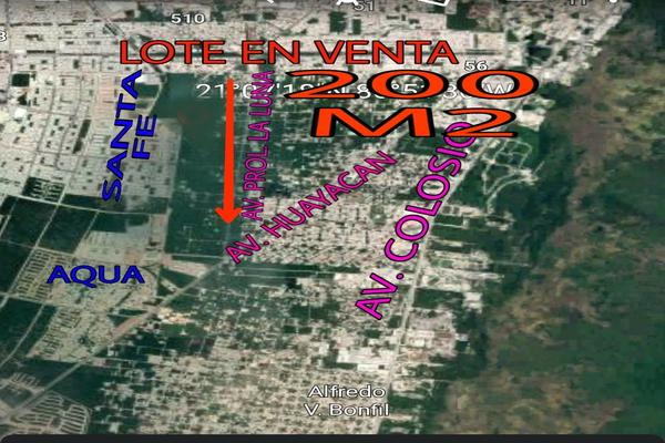 Foto de terreno habitacional en venta en avenida prolongacion la luna , colegios, benito juárez, quintana roo, 0 No. 02