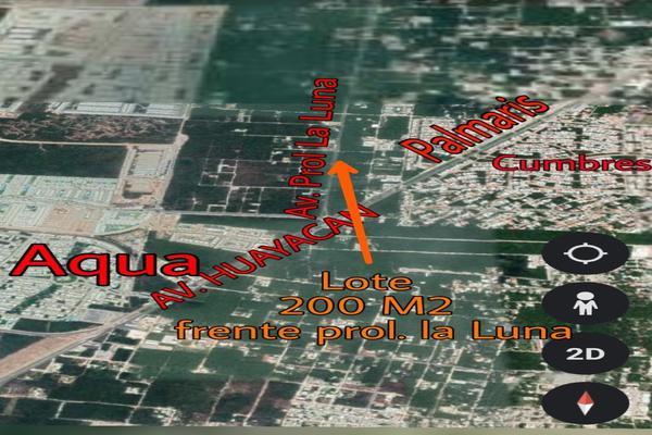 Foto de terreno habitacional en venta en avenida prolongacion la luna , colegios, benito juárez, quintana roo, 0 No. 04