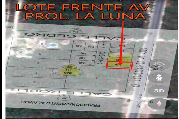 Foto de terreno habitacional en venta en avenida prolongacion la luna , colegios, benito juárez, quintana roo, 0 No. 05