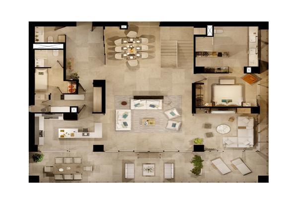 Foto de departamento en venta en avenida puerto cancun , supermanzana 22 centro, benito juárez, quintana roo, 10067870 No. 04