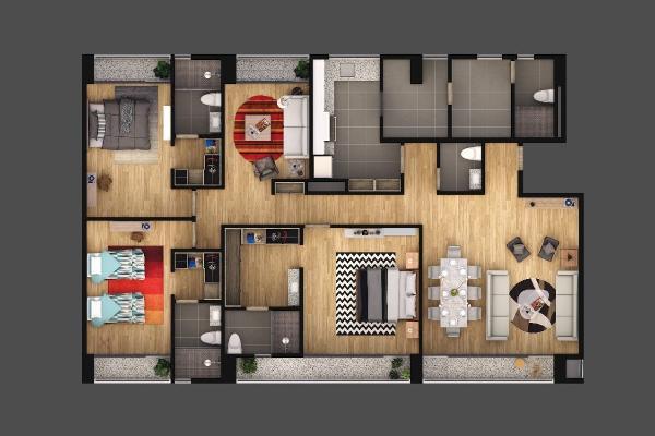Foto de departamento en venta en avenida residencial del parque , residencial el parque, el marqués, querétaro, 14022645 No. 07