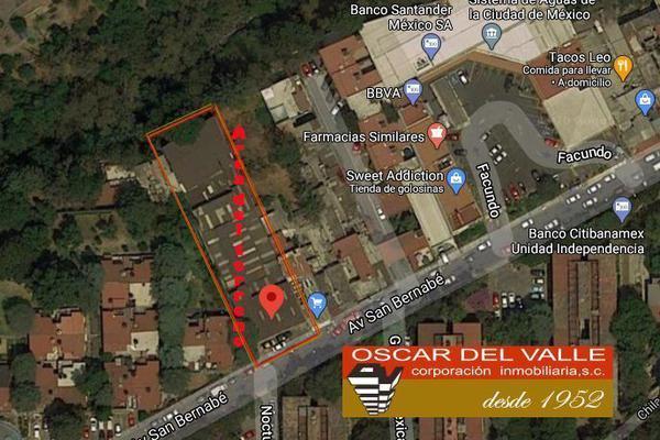 Foto de terreno comercial en venta en avenida san bernabe , san jerónimo lídice, la magdalena contreras, df / cdmx, 17737090 No. 02