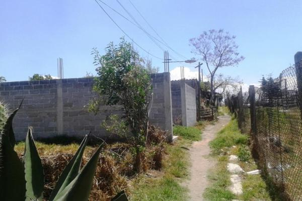 Foto de terreno habitacional en venta en avenida santa cruz 0, san sebastián, chalco, méxico, 8870760 No. 07