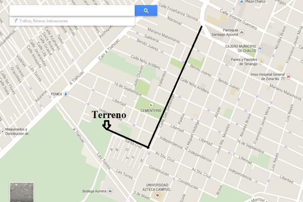 Foto de terreno habitacional en venta en avenida santa cruz 0, san sebastián, chalco, méxico, 8870760 No. 20