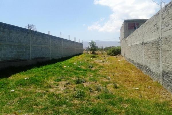 Foto de terreno habitacional en venta en avenida santa cruz 0, san sebastián, chalco, méxico, 8871704 No. 05