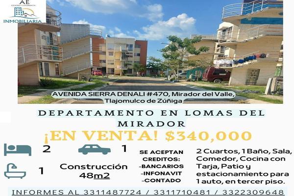 Foto de departamento en venta en avenida sierra denali , mirador del valle, tlajomulco de zúñiga, jalisco, 0 No. 02