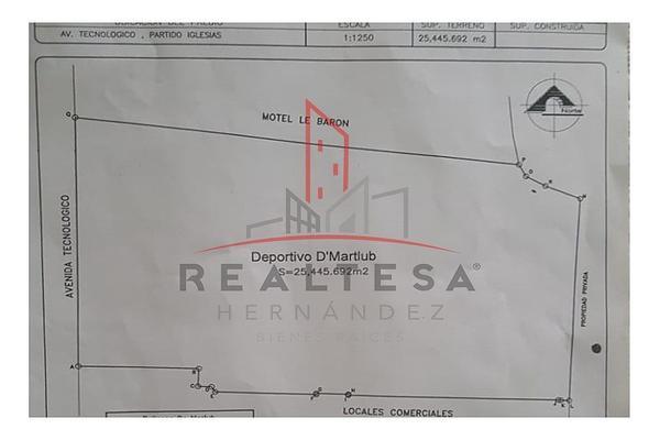 Foto de terreno comercial en venta en avenida tecnológico , real de san josé, juárez, chihuahua, 5762153 No. 02