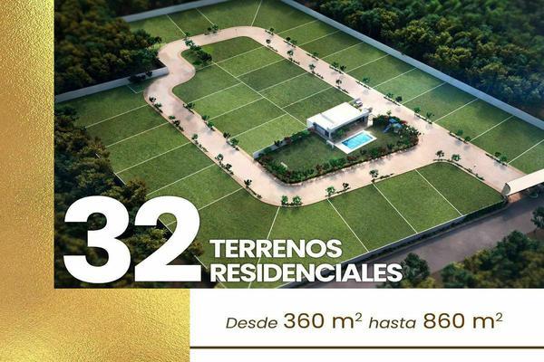 Foto de terreno habitacional en venta en avenida temozón , jalapa, mérida, yucatán, 21020319 No. 11