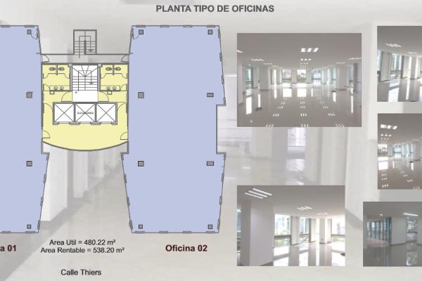 Foto de oficina en renta en avenida thiers , anzures, miguel hidalgo, df / cdmx, 10198145 No. 19