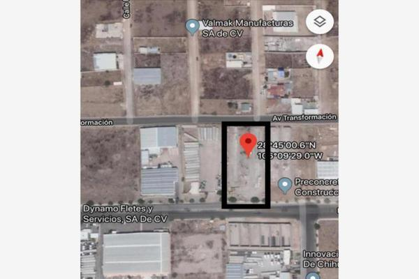 Foto de terreno industrial en venta en avenida transformación 5310, parque industrial impulso, chihuahua, chihuahua, 8435508 No. 01
