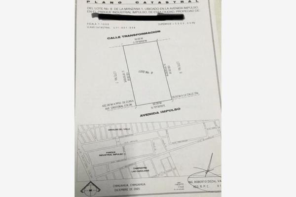 Foto de terreno industrial en venta en avenida transformación 5310, parque industrial impulso, chihuahua, chihuahua, 8435508 No. 02