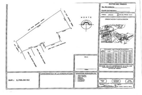 Foto de terreno comercial en venta en avenida universidad , jose maria pino suárez, centro, tabasco, 5648679 No. 01
